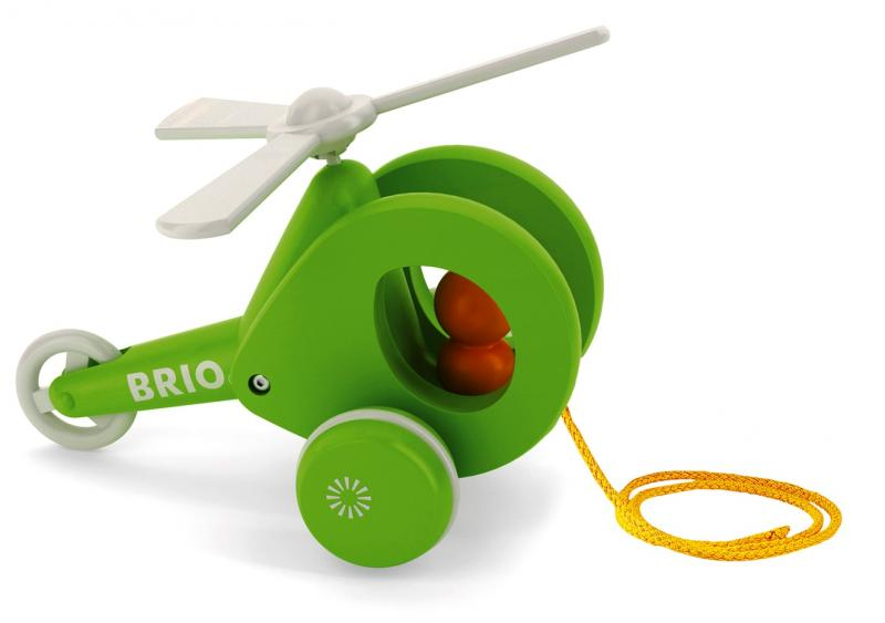 BRIO Pull-along Helicopter - 30195