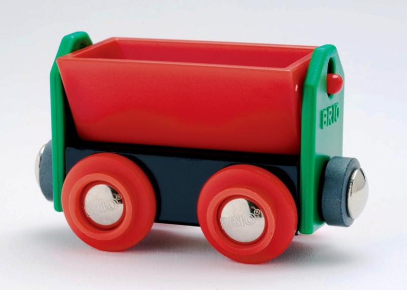 BRIO Red Tipping Wagon 33614