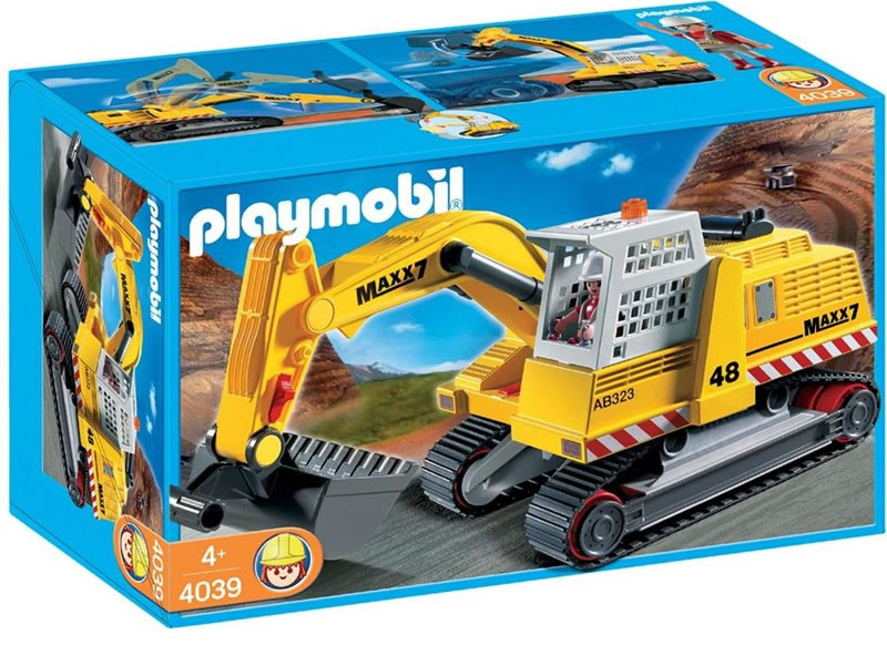 Playmobil Heavy Duty Excavator 4039