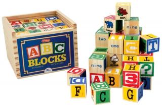 SCHYLLING Alphabet Blocks