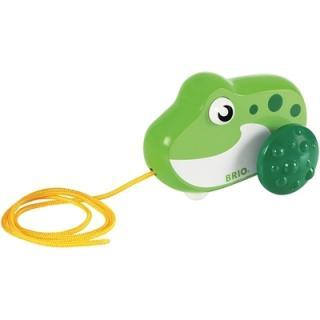 BRIO Pull Along Frog - 30208