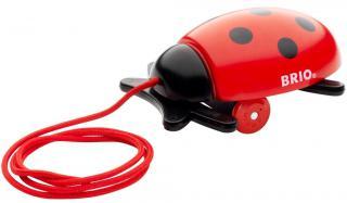 BRIO Pull Along Ladybug - 30320