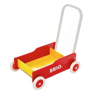 BRIO Toddler Wobbler Walker Red & Yellow - 31350