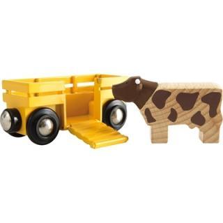 BRIO Cow Wagon - 33406