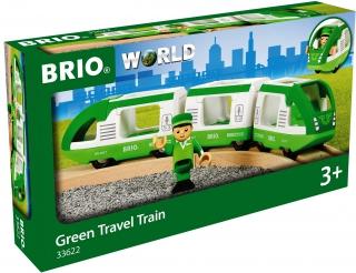 BRIO Green Travel Train 33622