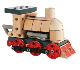 BRIO Builder Steam Train - 34565