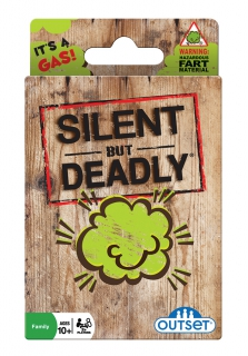 OUTSET Silent But Deadly Card Game 13290