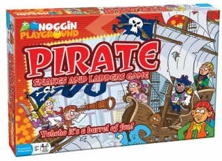 OUTSET Pirate Snakes and Ladders 17805