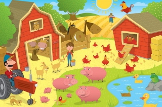 COBBLE HILL Higgledy Piggledy Farm 55114