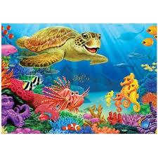 COBBLE HILL Undersea Turtle 58866