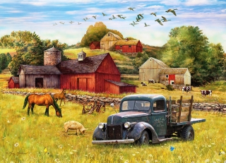 COBBLE HILL - Summer Afternoon on the Farm
