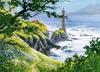 COBBLE HILL - Summer Lighthouse
