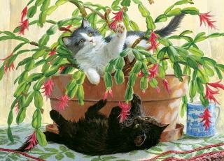 COBBLE HILL Cactus Kitties 80031