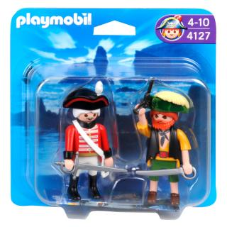 Playmobil Pirate and Redcoat Duo Pack 4127