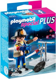 Fireman with Hose 4795