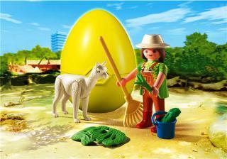 Zookeeper with Alpaca Egg 4944