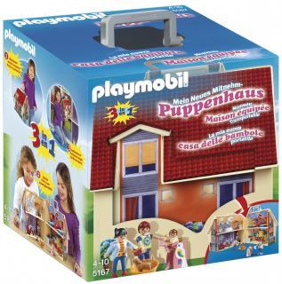 Playmobil Take Along Modern Doll House 5167