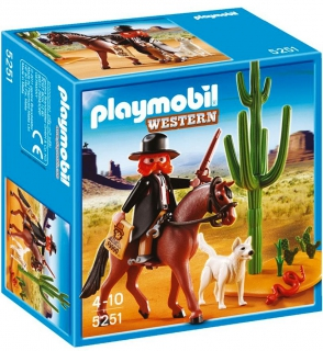 Playmobil Sheriff with Horse 5251