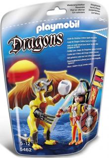 Playmobil Stone Dragon with Warrior 5462