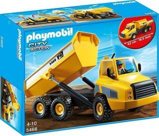 Playmobil Industrial Dump Truck 5468 Table Mountain Toys
