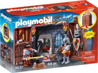 Playmobil Knights' Armoury Play Box 5637