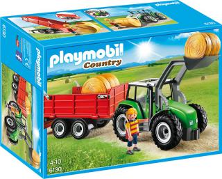 Large Tractor with Trailer 6130