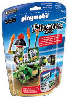 Playmobil Green Cannon & Pirate Captain