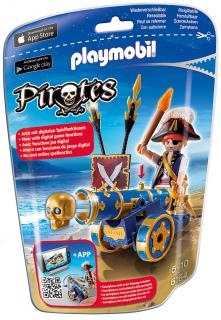 Playmobil Blue Cannon & Pirate 6164