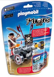 Playmobil Black Cannon & Raider 6165