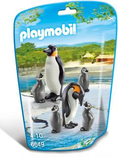 Playmobil Penguin Family 6649