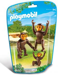 Playmobil Chimpanzee Family 6650