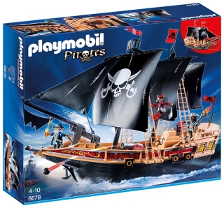 Playmobil Pirate Ship 6678
