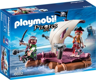 Playmobil Pirate's Raft 6682