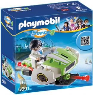 Playmobil Super 4 Skyjet 6691