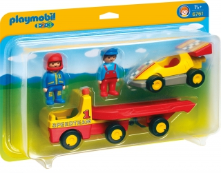 Playmobil Tow Truck with Race Car 6761