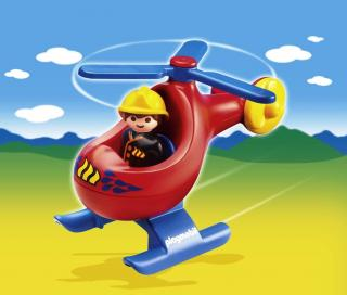 Playmobil Fire Rescue Helicopter 6789