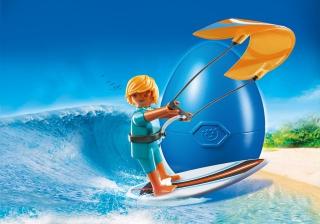 Kite Surfer Egg 6838