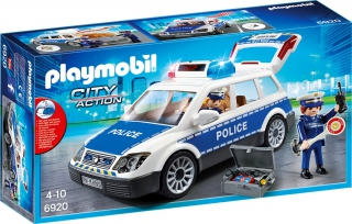 Police Car with Lights and Sound 6920