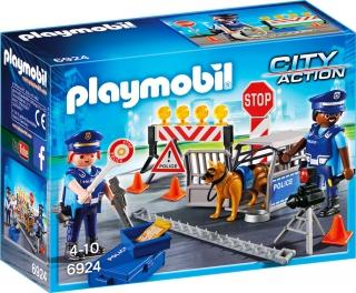 Police Roadblock 6924