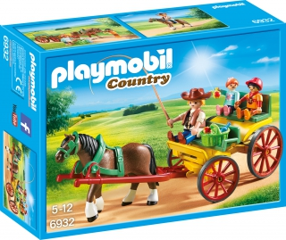 Playmobil Horse-Drawn Wagon 6932
