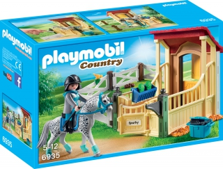 Playmobil Horse Stable with Appaloosa 6935