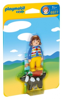 Playmobil Woman with Dog 6977