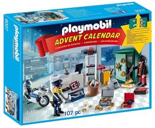 Playmobil Advent Calendar - Jewel Thief Police Operation 9007