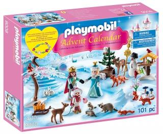 Playmobil Advent Calendar - Royal Ice Skating Trip 9008