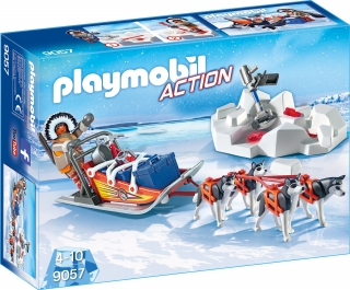 Playmobil Husky Drawn Sledge 9057
