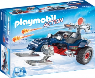 Playmobil Ice Pirate with Snowmobile 9058
