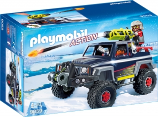 Playmobil Ice Pirate with Snow Truck 9059