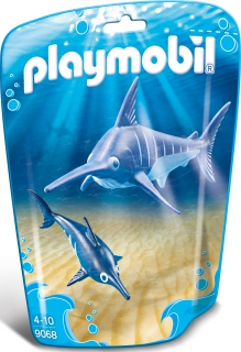 Playmobil Swordfish with Baby 9068