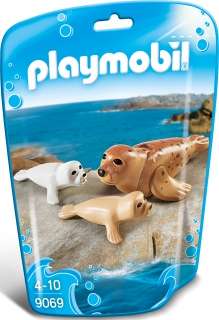 Playmobil Seal with Pups 9069