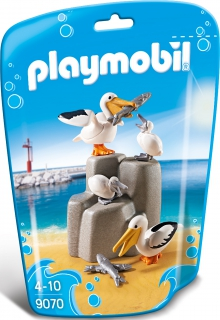 Playmobil Pelican Family 9070